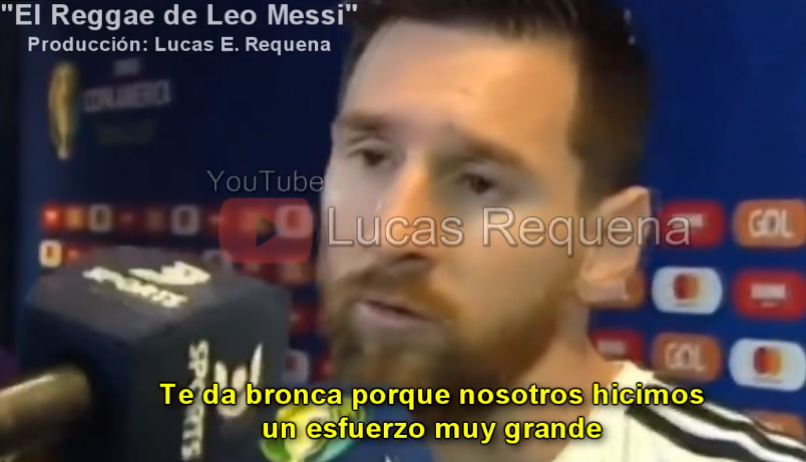 ¡Desopilante! Salió el reggae de Messi. Video