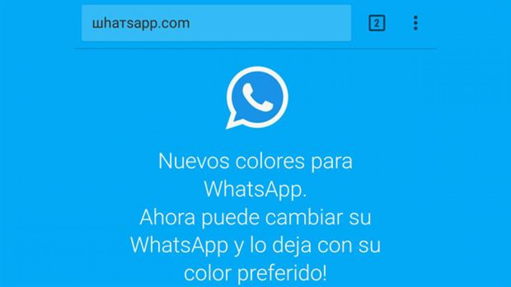 ¡Ojo! La estafa del WhatsApp en colores