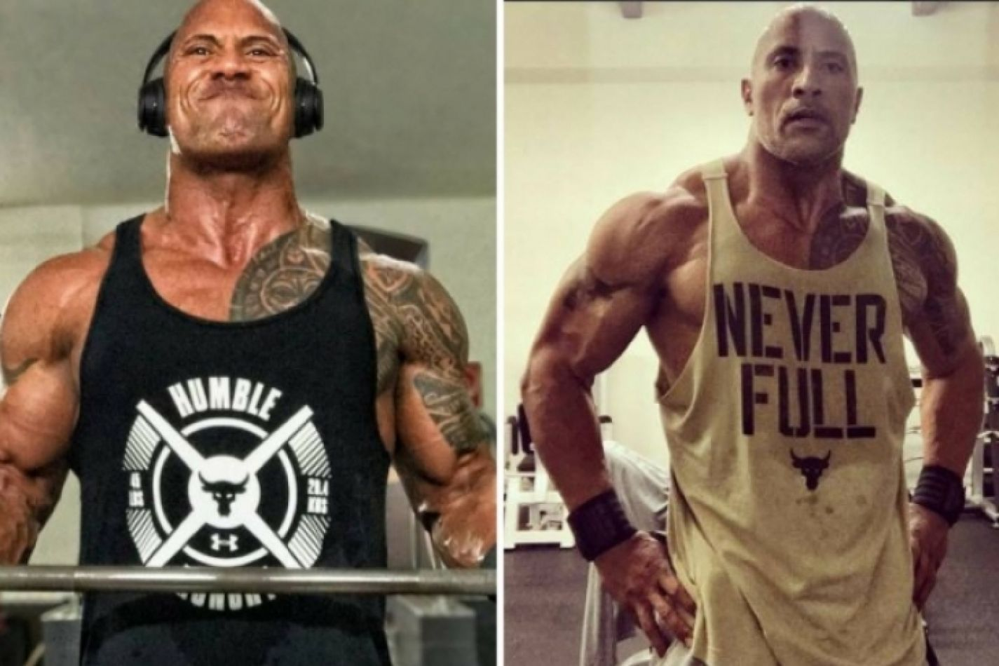 "Secreto revelado: La dieta de Dwayne Johnson para ser una ""Roca"". Video"
