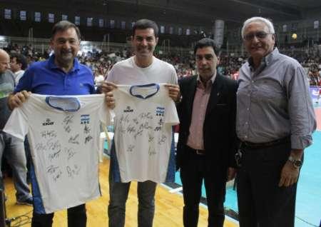 La Selección Argentina de Voley en Salta