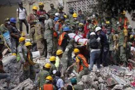 Impactantes imágenes del Terremoto en México
